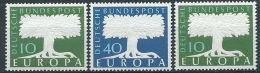 1957 EUROPA GERMANIA 3 VALORI MNH ** - EU8824 - Europa-CEPT