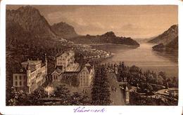 Tirage Photo Albuminé & Gravure Cartonné - Schoeneck - Alte (vor 1900)
