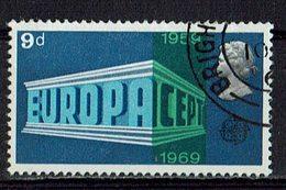 GB 1969 // Mi. 512 O (M.027..999) - Europa-CEPT