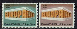 Griechenland 1969 // Mi. 1004/1005 ** (M.028..001) - Europa-CEPT