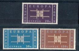 1963 EUROPA CIPRO MH * - EU011 - Europa-CEPT