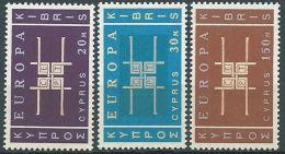 1963 EUROPA CIPRO MNH ** - EV-2 - Europa-CEPT