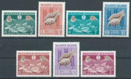 1963 MALDIVE LOTTA CONTRO LA FAME MNH ** - GB002 - Maldive (1965-...)