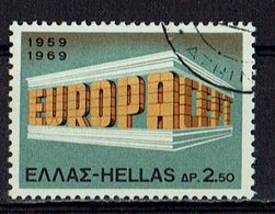 Griechenland 1969 // Mi. 1004 O (M.028..002) - Europa-CEPT