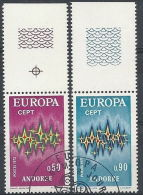 1972 ANDORRA FRANCESE USATO EUROPA - 2 - Europa-CEPT