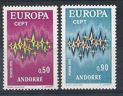 1972 EUROPA ANDORRA FRANCESE MNH ** - EU046 - 1972