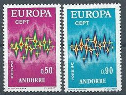 1972 EUROPA ANDORRA FRANCESE MNH ** - EU8824 - 1972