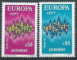 1972 EUROPA ANDORRA FRANCESE MNH ** - EV - 1972