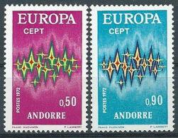 1972 EUROPA ANDORRA FRANCESE MNH ** - EV-4 - 1972