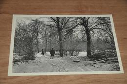 4169- KORTENBERG - CORTENBERG - Parkaanblik In De Winter / Animée - Kortenberg