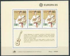 1985 EUROPA MADERA FOGLIETTO MNH ** - EV - Europa-CEPT