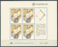 1985 EUROPA PORTOGALLO FOGLIETTO MNH ** - EV - Europa-CEPT