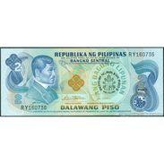 TWN - PHILIPPINES 166a - 2 Piso 1981 Visit Of Pope John Paul II - Prefix RY UNC - Filippine