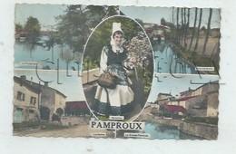 Pamproux (79) :  5 Vues  Dont GP D'une Maison Près De La Halle En 1963 (animé) PF. - France