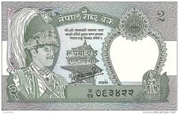 NEPAL 2 RUPEES 1981 UNC P 29 - Népal