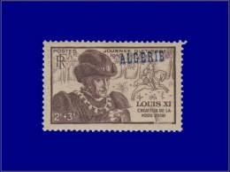ALGERIE  Yvert:246, Surcharge Décalée Vers Le Bas: Journée Du Timbre 1945      - Qualité: X - Algeria (1924-1962)