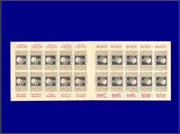 """ALGERIE Carnets Tuberculeux Yvert:(1934), Carnet De 20, """"""""Constantine"""""""", (Coutan 34 D)      - Qualité: XX . Cote: 100 - Algeria (1924-1962)"""