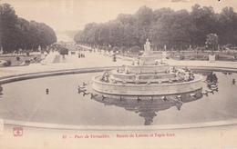 (78) - PARC DE VERSAILLES - Bassin De Latone Et Tapie Vert - Versailles (Château)