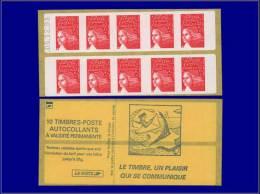 FRANCE Carnets Yvert:531 B, Carnet 10 X Tvp De Luquet, Erreur De Date 5/12/91      - Qualité: XX . Cote: 100 - Booklets