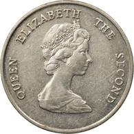 Monnaie, Etats Des Caraibes Orientales, Elizabeth II, 25 Cents, 1995, TTB - British Caribbean Territories