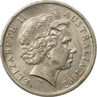 Monnaie, Australie, Elizabeth II, 5 Cents, 2002, TTB, Copper-nickel, KM:401 - Monnaie Décimale (1966-...)
