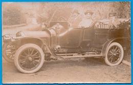 CPA CARTE-PHOTO Automobile écrite à MONTRET 71 * Voiture Auto Car - Cartes Postales