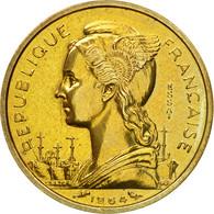 Monnaie, Comoros, 10 Francs, 1964, Paris, ESSAI, SPL, Bronze-Aluminium-Nickel - Comoros