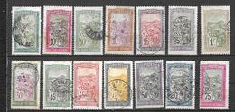 Madagascar Scott N°84.85.86.89.92.109.95.99.400.102.104.103.107.oblitérés - Oblitérés