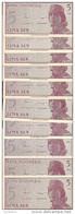 INDONESIE 5 SEN 1964 UNC P 91 ( 10 Billets ) - Indonésie