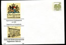 Bund PU117 C2/056b POSTHAUSSCHILD OGGERSHEIM 1987 - Post
