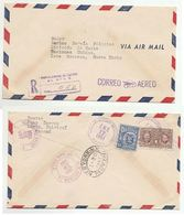 1951 Registered PANAMA To UNITED NATIONS RADIO DIV USA Airmail COVER Marie CURIE Stamps Radiation Health Broadcasting Un - Panama