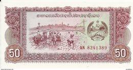 LAOS 50 KIP ND1979 UNC P 29 - Laos