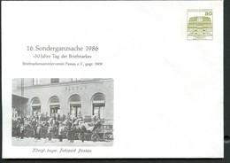 Bund PU117 C2/062 BAYERISCHE FAHRPOST Passau 1986 - Post