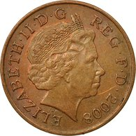 Monnaie, Grande-Bretagne, Elizabeth II, Penny, 2008, TTB, Copper Plated Steel - 1971-… : Monnaies Décimales