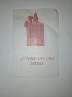 Servilleta,serviette .La Torre Del Oro.Sevilha - Serviettes Publicitaires