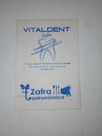 Servilleta,serviette .Zafra Gastronômica,Espanha - Servilletas Publicitarias