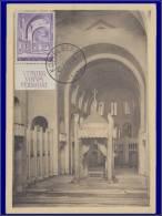 Belgique, Carte Maximum, Yvert 477A, Intérieur De La Basilique Koekelberg - Unclassified