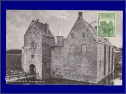 Danemark, Carte Maximum, Yvert 353, Château De Spottrup - Dinamarca