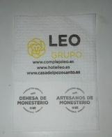 Servilleta,serviette .Leo Grupo Hoteleiro,Espanha - Company Logo Napkins