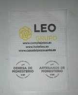 Servilleta,serviette .Leo Grupo Hoteleiro,Espanha - Servilletas Publicitarias