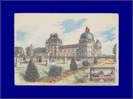 France, Carte Maximum, Yvert 1128, Chateau De Valencay - Maximum Cards