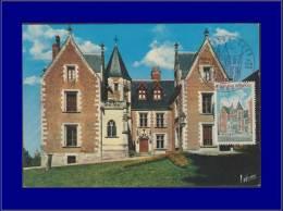 France, Carte Maximum, Yvert 1759, Le Clos-Lucé à Ambroise - Maximum Cards