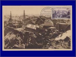 France, Carte Maximum, Yvert 916, Le Pic Du Midi De Bigorre - Maximum Cards