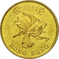 Monnaie, Hong Kong, Elizabeth II, 10 Cents, 1998, TTB, Brass Plated Steel, KM:66 - Hong Kong