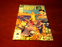 THE WORLD OF  KRYPTON   No 1 DEC - DC