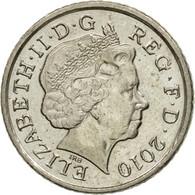 Monnaie, Grande-Bretagne, Elizabeth II, 5 Pence, 2010, TTB, Copper-nickel - 1971-… : Monnaies Décimales