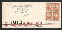 Mozambique, Caltex Africa Ltd, Cover, 20 Centavos, > S.Africa - Mozambique