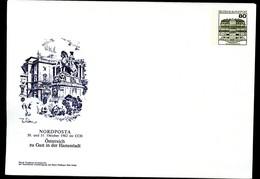 Bund PU117 D1/002 DENKMAL PRINZ EUGEN WIEN Hamburg 1982 - Private Covers - Mint