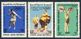 Syria C333-C335,C336,MNH.Mi 890-892,Bl.51. Olympics Tokyo-1964.Tennis,Wrestling, - Summer 1964: Tokyo