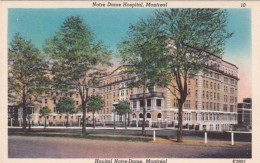 Canada Montreal Notre Dame Hospital